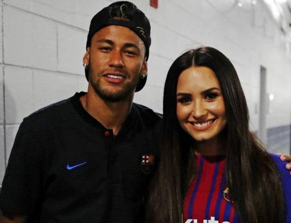 Neymar et Demi Lovato très proches, ils ne se quittent plus !