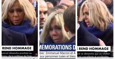 Commémorations du 13-Novembre : Brigitte Macron n'a pas pu retenir ses larmes