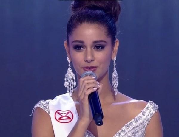 Miss Monde : Aurore Kichenin finit 5e, une question du jury a eu raison d'elle