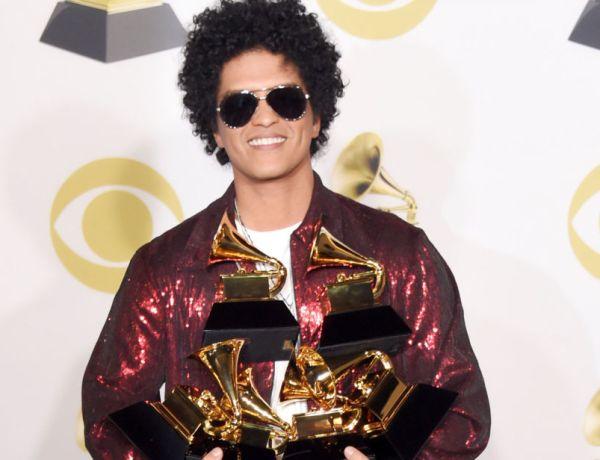 Grammy Awards 2018 : Bruno Mars grand vainqueur, découvrez le palmarès complet !