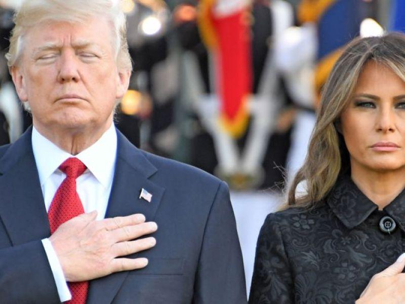 Melania Trump plus seule que jamais pour son anniversaire de mariage