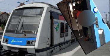 La vidéo choc d'un couple en plein ébat sexuel dans le RER D fait le tour du Web