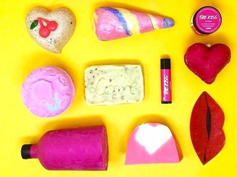 Saint-Valentin : On craque pour la collection Lush !