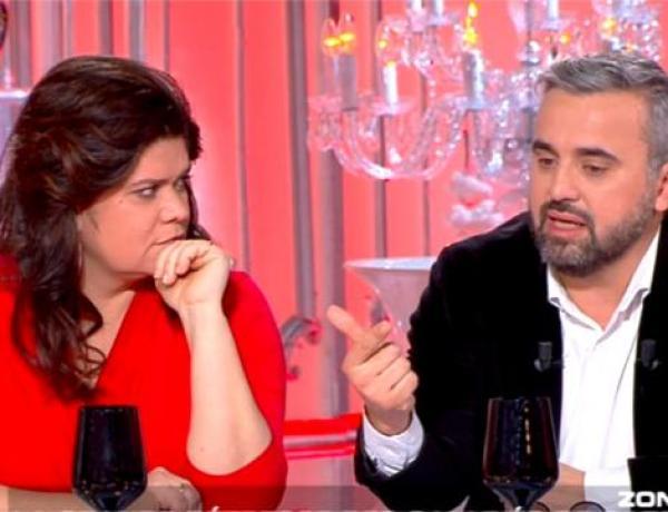 Les Terriens du dimanche : Alexis Corbière en larmes soutenu par Raquel Garrido