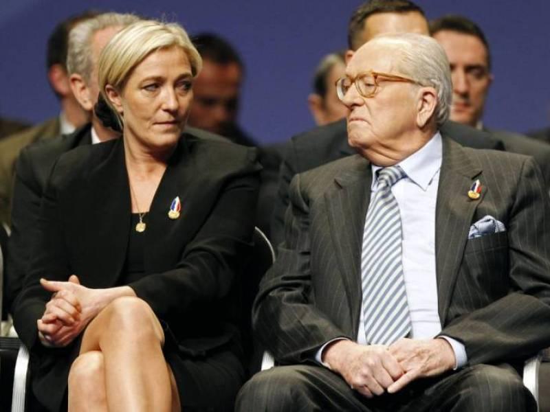 Jean-Marie Le Pen énervé : « Marine ne pourra rompre ses liens avec moi qu'en se suicidant »