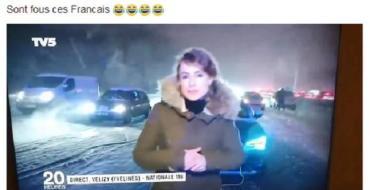 La vidéo des Québécois se moquant des Parisiens bloqués par la neigefait le tour du Web !