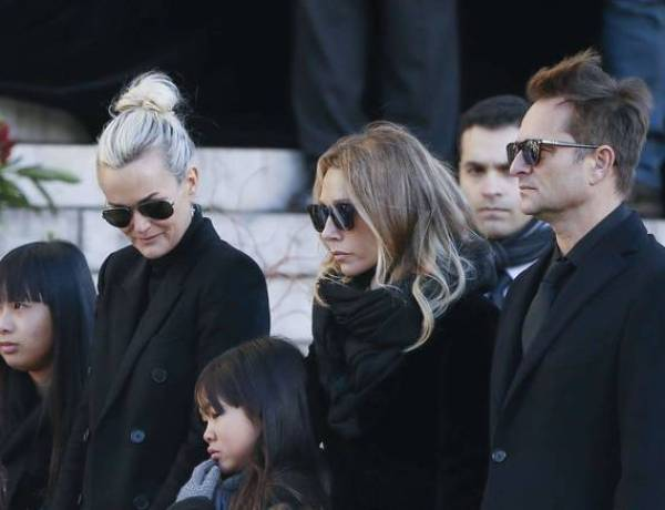 Album posthume de Johnny : Son fils David Hallyday attaque ouvertement Laeticia