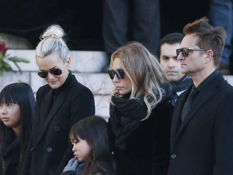 Album posthume de Johnny : Son fils David Hallyday attaque ouvertement Laeticia
