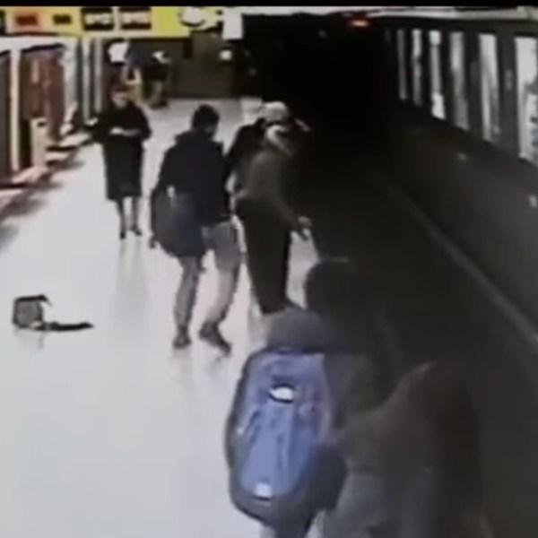 Métro de Milan : Un adolescent évite la mort à un enfant au péril de sa vie