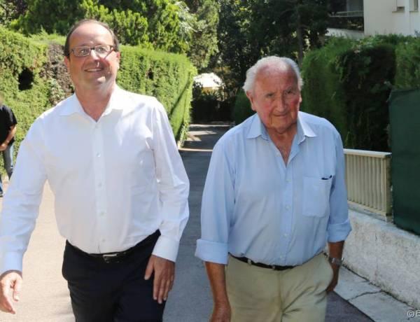 Le père de François Hollande sérieusement blessé au visage suite à une chute