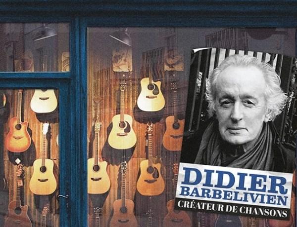 """Concours : Gagnez le dernier album de Didier Barbelivien """"Créateur de chansons"""""""