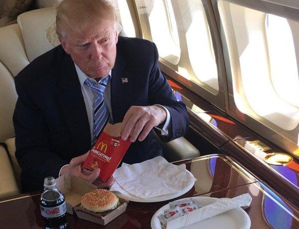 Donald Trump : au régime forcé