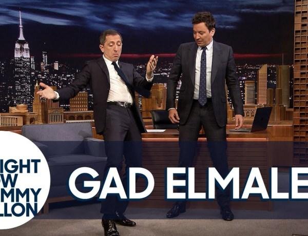 Quand Gad Elmaleh apprend la danse orientale à l'animateur américain… Jimmy Fallon !