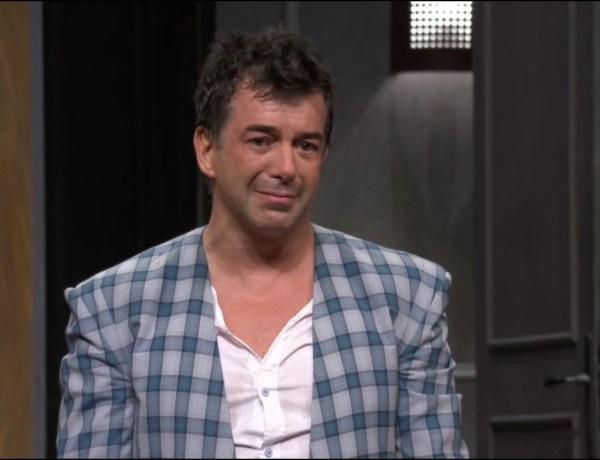 Quand Stéphane Plaza finit… complètement nu sur scène !