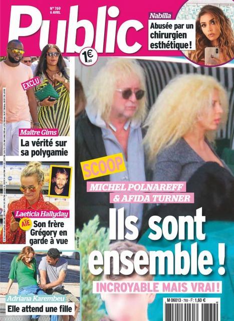 Michel Polnareff et Afida Turner amoureux ?