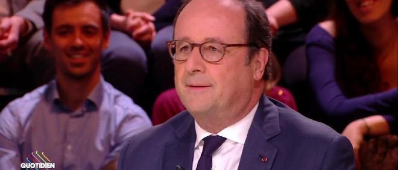 """Quotidien : Quand François Hollande dézingue Emmanuel Macron """"le président des très riches"""""""