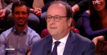 Quotidien : Quand François Hollande dézingue Emmanuel Macron «le président des très riches»