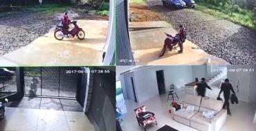 Des voleurs se font surprendre par le propriétaire enragé !