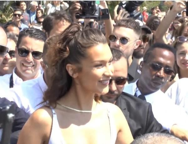 Cannes 2018 – Jour 3 : Bella Hadid crée l'émeute !