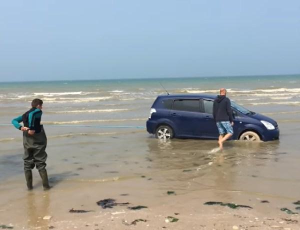 Caen : Ces touristes voulaient voir la mer d'un peu trop près