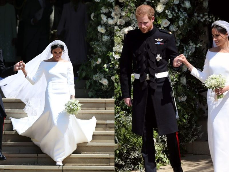Ouf ! Cristina Cordula valide la robe de mariée de Meghan Markle