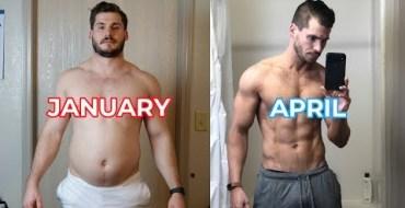 L'incroyable transformation physique de cet homme… en seulement trois mois !