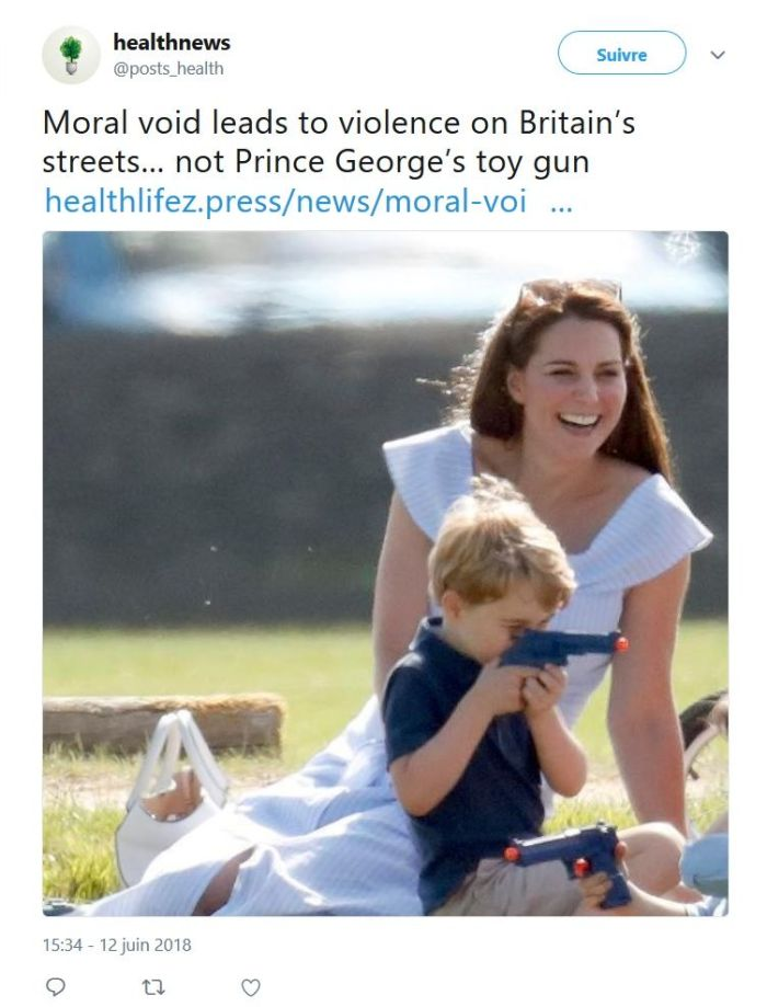 Prince George de Cambridge : La photo qui choque l'Angleterre !