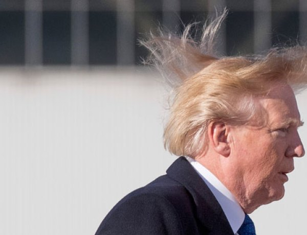 Quand Donald Trump vante… ses qualités capillaires !