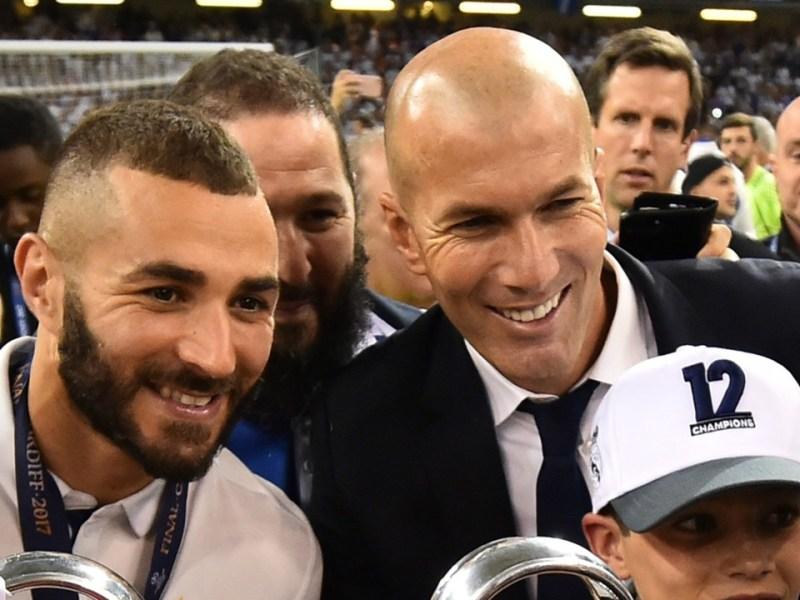 Zinedine Zidane annonce son départ du Real Madrid : Karim Benzema lui adresse un message énigmatique…