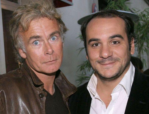 """Quand Franck Dubosc et François-Xavier Demaison montrent leurs """"abdominaux"""""""