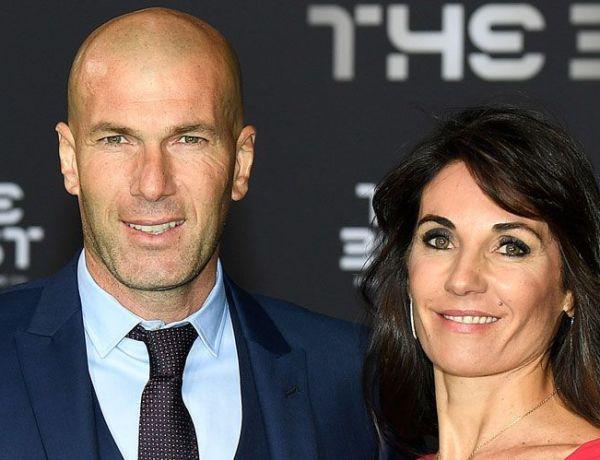 La famille Zidane prend la pose en vacances