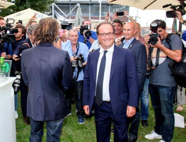 François Hollande, roi de Solidays en 2014