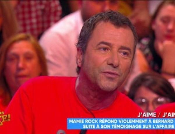 Touche pas à mon poste : Clashé par Mamie Rock, Bernard Montiel lui répond !
