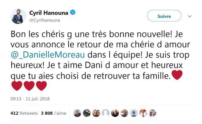 Danielle Moreau : Elle explique pourquoi elle a quitté France 2 pour TPMP !