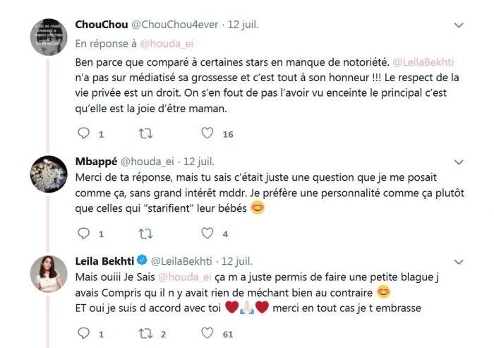 Leïla Bekhti : L'actrice se moque d'un internaute avec l'aide de Marina Foïs !