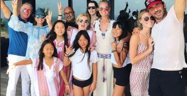 Laeticia Hallyday fête la victoire des Bleus depuis St-Barth