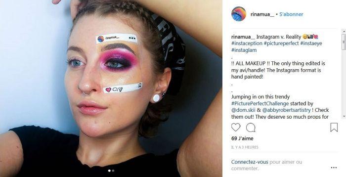 #Instaception : La tendance makeup qui dévoile la vérité derrière les photos Instagram !