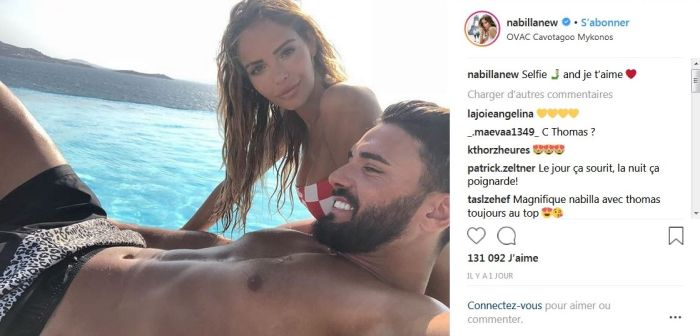 Nabilla Benattia : Ses déclarations d'amour enflammées et sexy à Thomas Vergara !