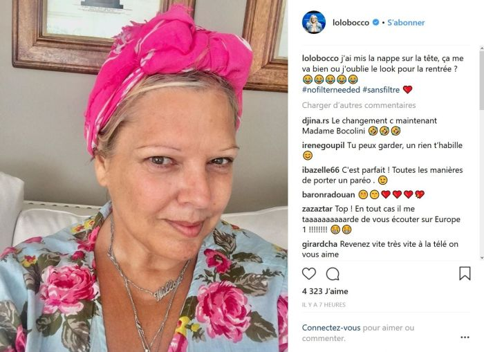 Laurence Boccolini sur Instagram : Sans maquillage, elle surprend les internautes !