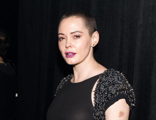 Rose McGowan s'en prend violemment au mouvement Time's Up