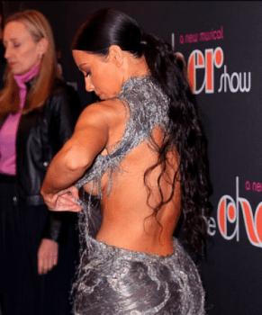 Oups ! Kim Kardashian en montre un peu plus que prévu...