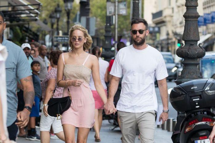 Jennifer Lawrence est officiellement fiancée !