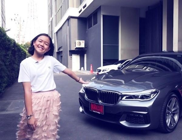 Célèbre Youtubeuse, elle s'offre une BMW pour ses 12 ans