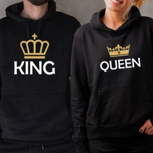 Mikiny pre páry – King & Queen II