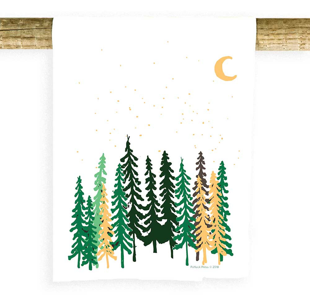 Tall Trees Amp Moon Potluck Press