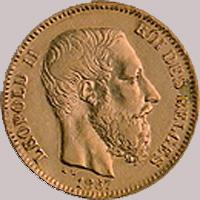 Belguim 20 Francs
