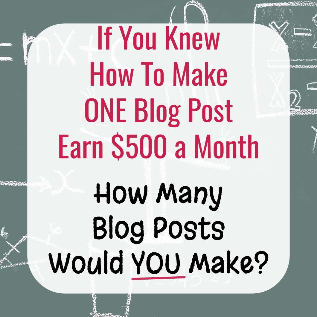 How to easily and quickly increase your blog post conversion rates and make more affiliate sales.