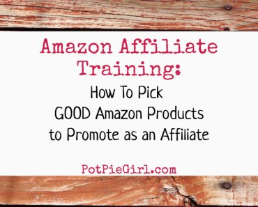 Amazon Affiliates Tips: How to Pick GOOD Amazon Products to Promote as an Amazon affiliate.