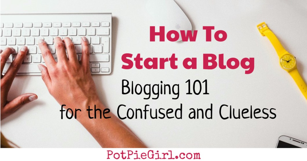 How To Start a Blog for Profit, for Fun or for BOTH.  Learn everything you need to know about starting a blog so YOU can be blogging for money too!