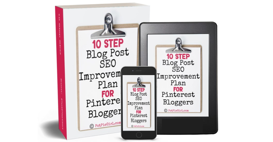 10 Step SEO Strategy from PotPieGirl